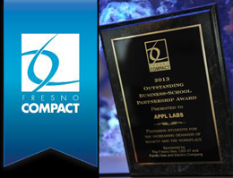 APPL President Receives Fresno Compact Award